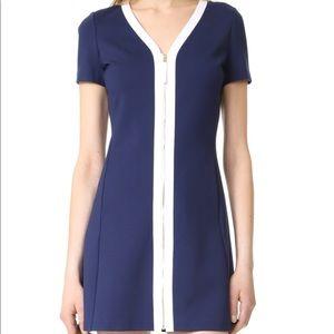 Tory Burch blue Kimberley mini dress